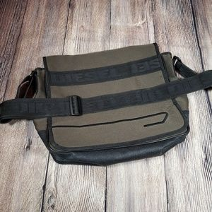 Diesel laptop messenger bag canvas